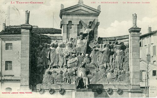 "Afficher ""126 - Montauban - Le monument Ingres"""