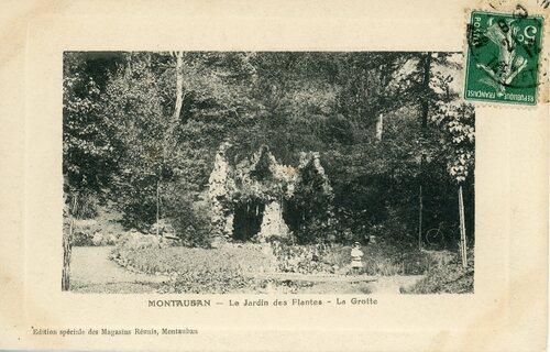 """Afficher """"Montauban - Le Jardin des Plantes - La Grotte"""""""