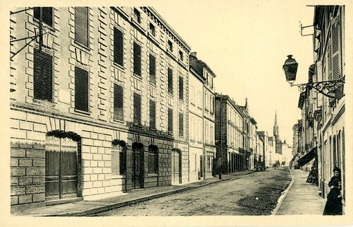 "Afficher ""Montauban - Maison où naquit Ingres, rue du Moustier"""