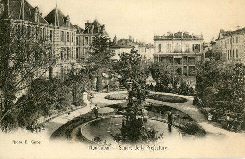 """Afficher """"Montauban - Square de la Préfecture"""""""
