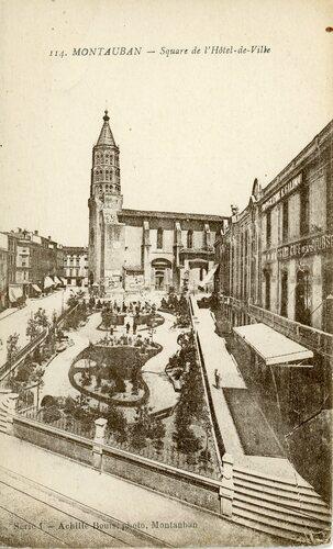"""Afficher """"Montauban - Square de l'Hôtel de Ville"""""""
