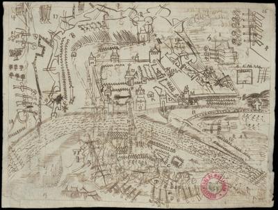 Cartes et plans manuscrits